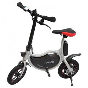 Foston Scooter Bike Fs-p12 Mini Bicicleta Elétrica Branca