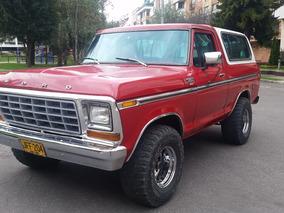 Ford Bronco 1978 Ranger Xlt 4x4 Recibo Menor Valor