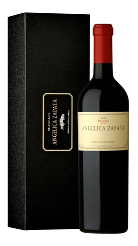 Estuche Angelica Zapata Alto Malbec X1 Botella 750 Ml