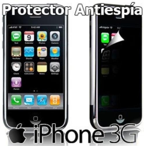 Lámina Protector Pantalla Antiespia iPhone 3g Antichisme