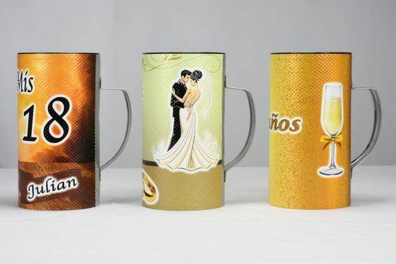Vasos Güira Personalizados Para Casamientos