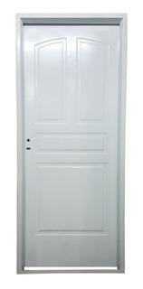 Puerta Doble Chapa Inyectada 0,80x2,00 - Libermet