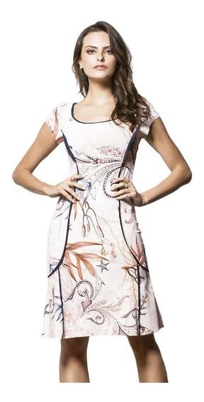 Vestido Feminino Tubinho Social Decote Nas Costas Evangelico