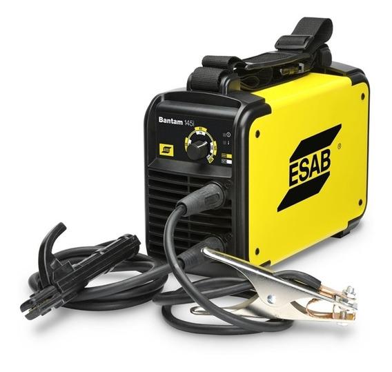 Maquina De Solda Inversora 145i Bantan Bivolt 110/220v Esab