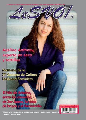 Imagen 1 de 1 de Revista Lesvoz #45, 2012, Cultura Lésbica Feminista