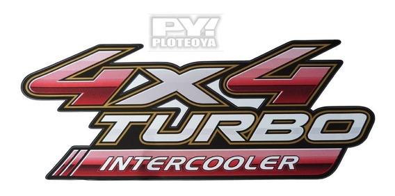 Calco 4x4 Turbo Intercooler Toyota Hilux Calcomania Original