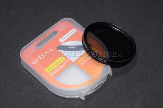Filtro Polarizador 52mm Cpl Green.l Filtro Pl