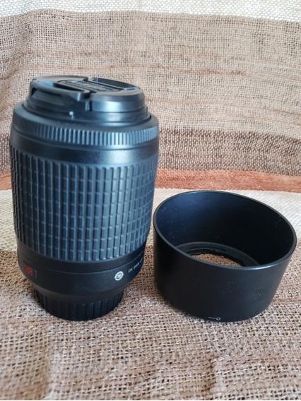 Lente Nikon 55-200mm F4.5-5.6 G Vr Fx Nikkor Parasol