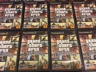 Grand Theft Auto San Andrés Ps2