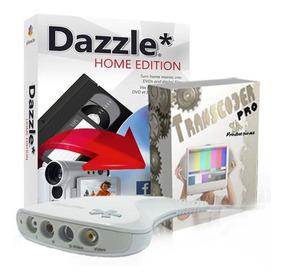 Placa De Captura De Video Pinnacle Dazzle Dvd Usb Vhs Transc