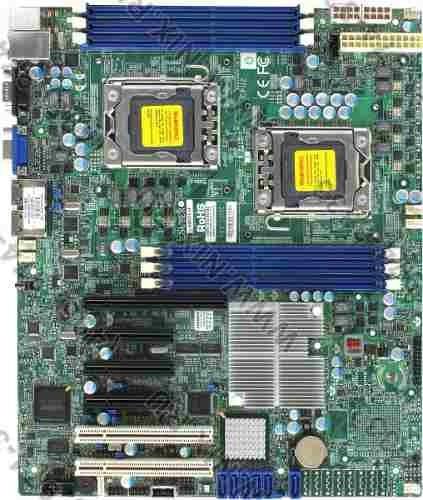 Placa-mae Supermicro X8dtl-if Para Xeon - Nova Na Caixa!