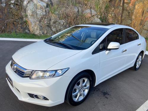 Imagem 1 de 15 de Honda Civic 2014 1.8 Lxs Flex Aut. 4p