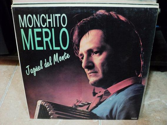 Disco De Monchito Merlo Jaguel Del Monte Lp Nuevo