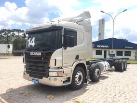 Scania P 310, 4o. Eixo, Automat., Ar Cond., Chassi, Sjp3197