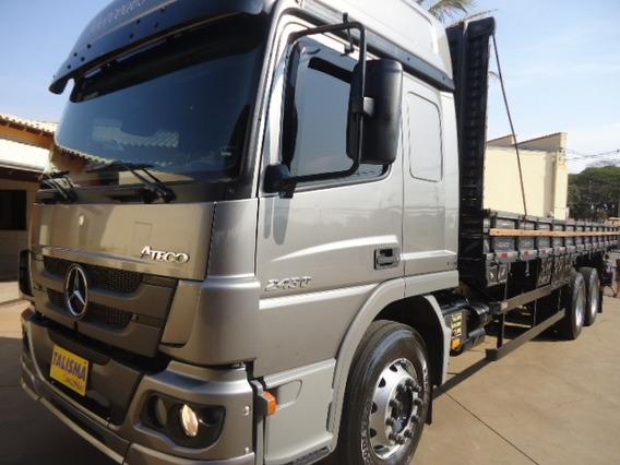 M.benz Atego 2430-t.alto-truck-carroceria-talismã Caminhões