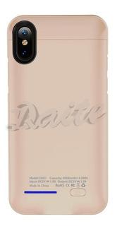 Case Capa Carregador iPhone X 4000mah Dx01