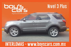 Ford Explorer 2013 Blindada Nivel 3 Plus Limited V6 4x2