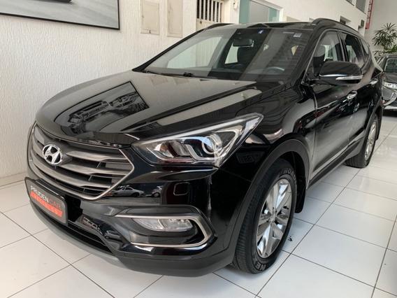 Hyundai Santa Fé 3.3 V6 7 Lugares 2018 Gasolina Preta