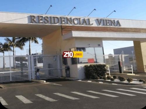 Te06256 - Terreno - At. 459,08m² - Com Localização Privilegiada Em Condomínio Residencial Viena / Indaiatuba - Sp - R$ 436.126,00 - Z10 Imóveis - Te06256 - 69350999