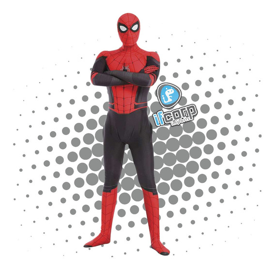 Disfraz Adulto Spider-man Far From Home Spiderman Halloween
