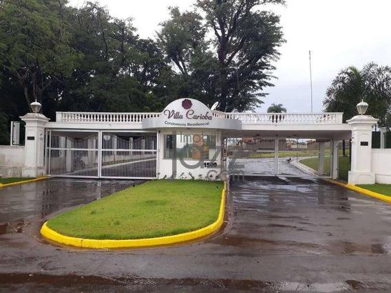 Terreno À Venda, 354 M² Por R$ 200.000 - Parque Nova Carioba - Americana/sp - Te0985