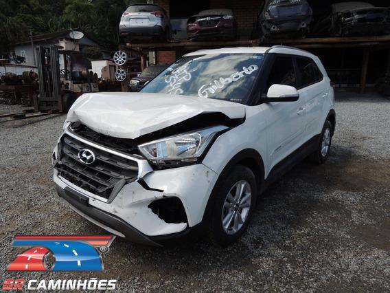 Sucata Hyundai Creta Automática 2017/2018 P/ Venda De Peças