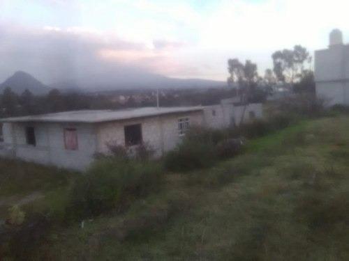 Excelente Terreno De 892m2 En Re Mate Con Construccion En Obra Negra !!