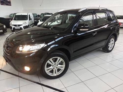 Hyundai Santa Fe Blindada N Iii-a 2012 Preta 3.5 V6 Aut 7lug