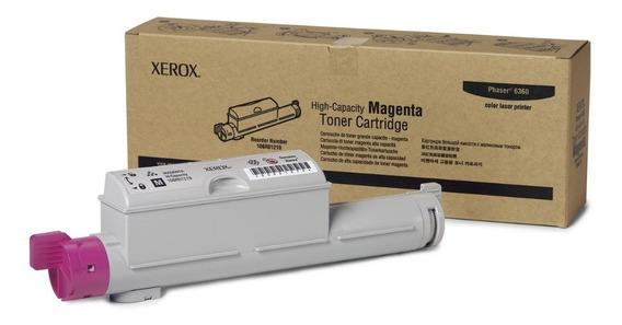 Cartucho Toner Xerox Phaser 12k Magenta - 6360 - 106r01219