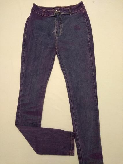 Calça Jeans Skinny Cintura Alta Div. Cores E Modelos Rf.d68!