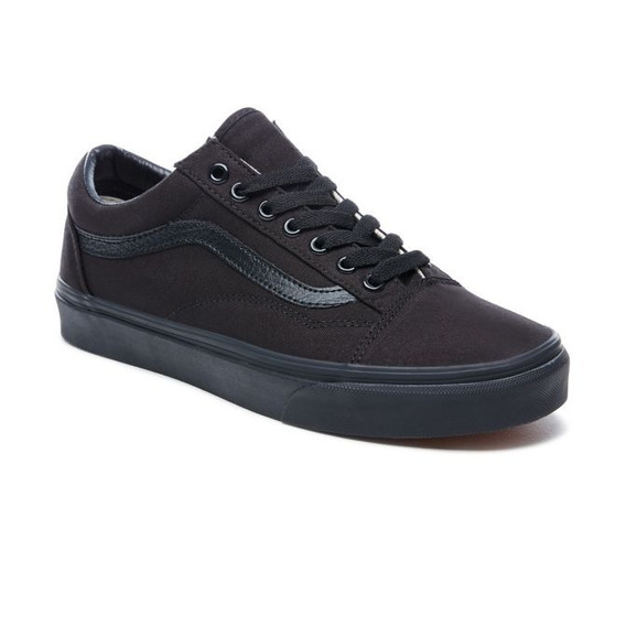Zapatillas Vans Mod Old Skool Toda Negra!!! 100% Original!!