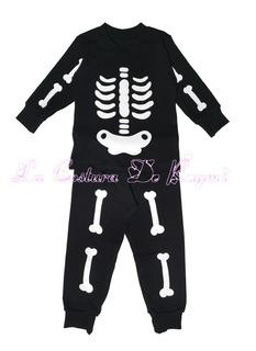 Traje Disfraz De Esqueleto, La Costura De Raymi
