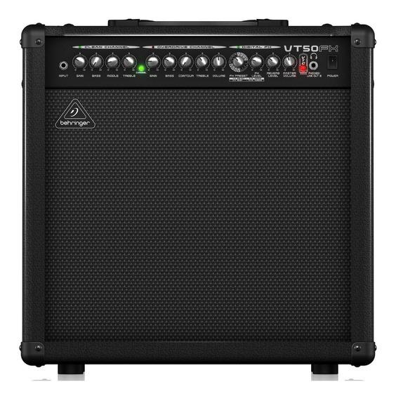 Amplificador De Guitarra Behringer Virtube 2 Canales Vt50fx