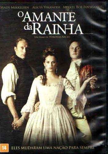 Dvd - O Amante Da Rainha Paramount