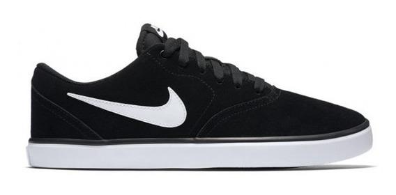 Zapatillas Nike Sb Check Solar Black/white