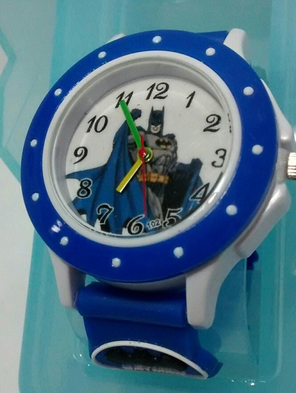 Relógio Infantil Batman Super Heróis Avengers Barato