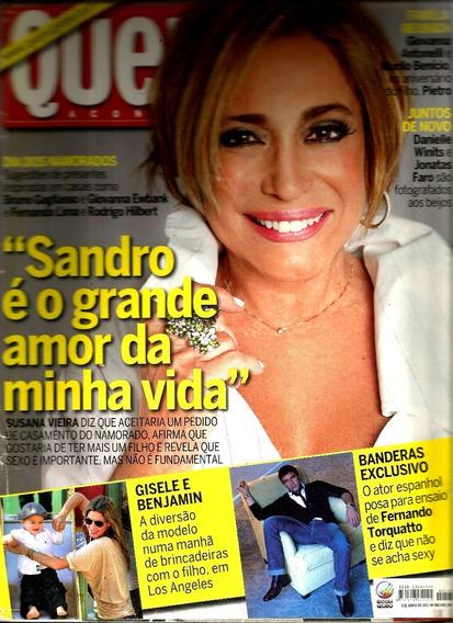 Revista Quem 560/11 - Susana/gisele/banderas/montagner