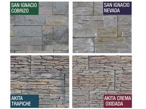 Revestimiento Simil Piedras Naturales Oxido Importada Murete