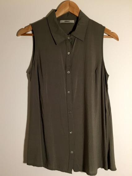 Camisa Musculosa Larga - Sweet