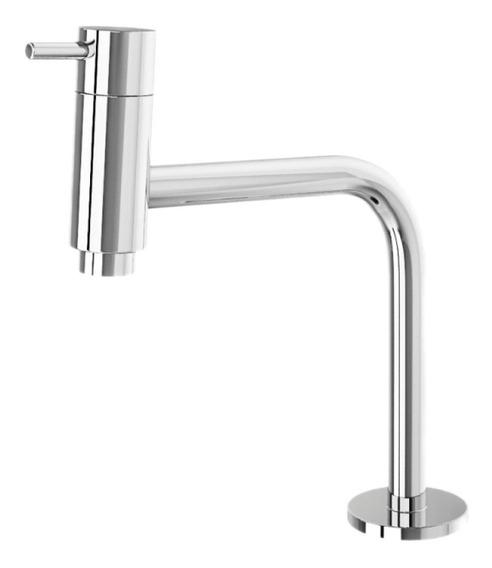 Torneira Banheiro Lavatório Metal Inox Slim Fit 3130