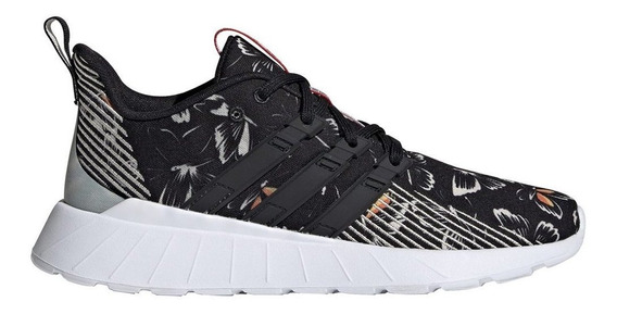 Zapatillas adidas Questar Flow W Negro - Corner Deportes