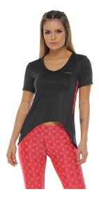 Cuello VColor Para Camiseta Deportiva Fucsia Mujer E29WHDIY