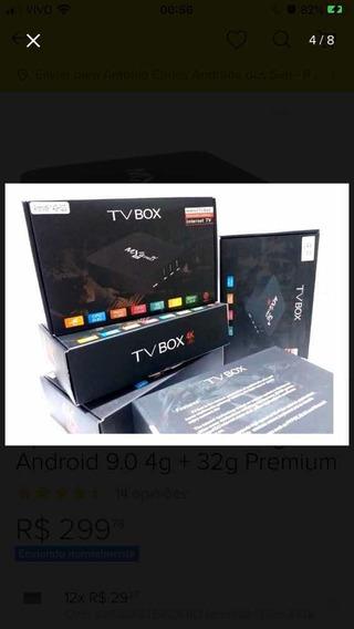 Smartv Tv Box 16gb 3gb Ram Android 8.1 -4k 5g