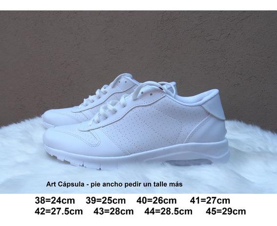 Zapatilla Capsula Talles Grandes - 38 Al 45