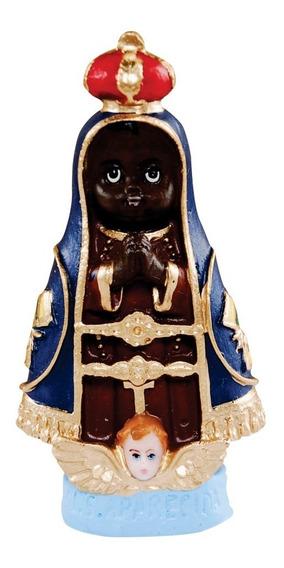 30 Imagem Nossa Senhora Aparecida Infantil Em Resina 8cm