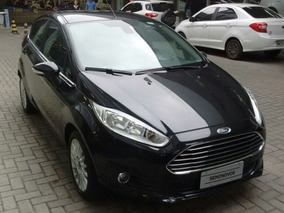Ford New Fiesta Titanium 1.6 16v P.shift Flex 2015/2016
