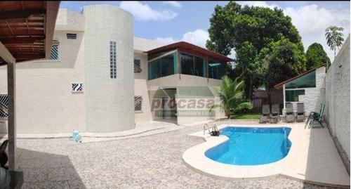 Imagem 1 de 9 de Casa Com 4 Dormitórios À Venda, 392 M² Por R$ 900.000,00 - Tarumã - Manaus/am - Ca4237