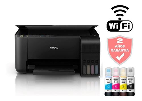 Impresora Multifuncion Epson L3150 Wifi Ecotank Continuo Amv