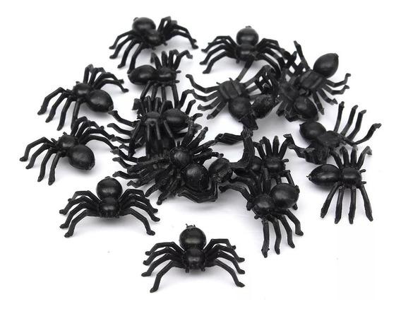 Arañas Arañitas Halloween X 12 Unid Cotillon Chirimbolos