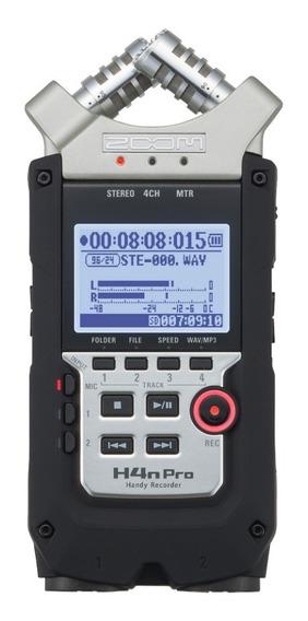 Zoom Gravador De Áudio H4n Pro